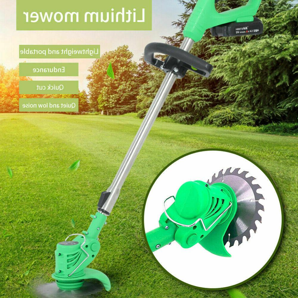 cordless powerful electric grass weeds lawn trimmer