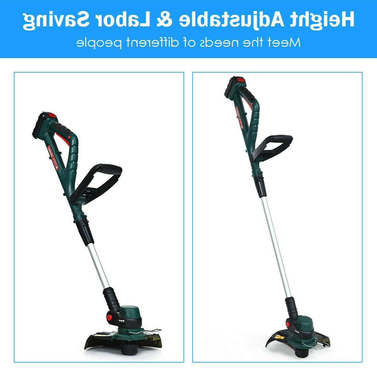 Cordless String Trimmer Weed
