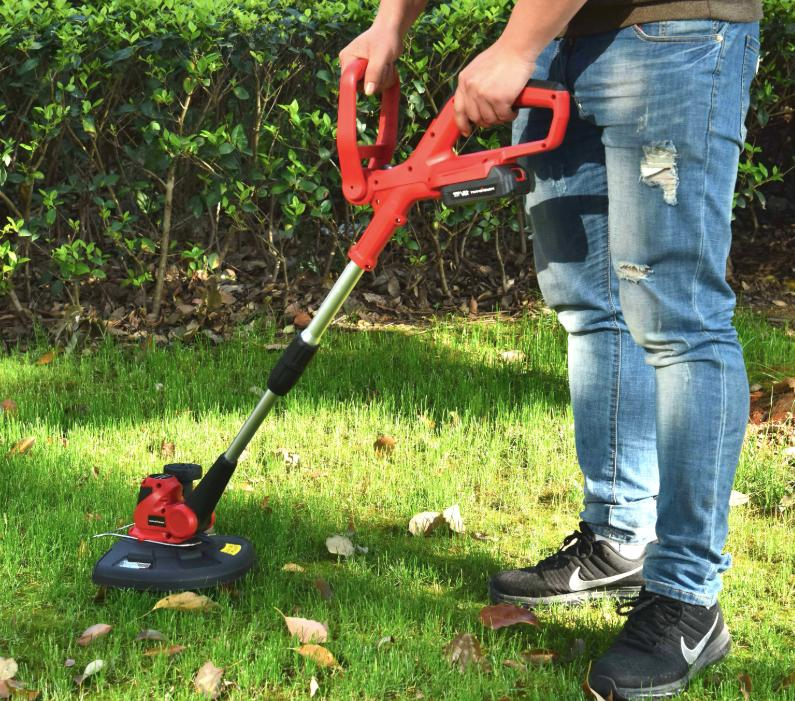 Cordless Trimmer Edger With Weed Pivoting Head