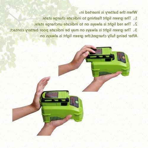 Cordless String with Battery Grass Cutter Weed