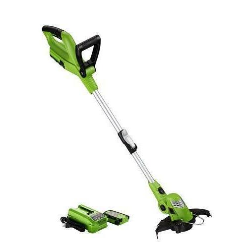 cordless string trimmer edger with battery lawn