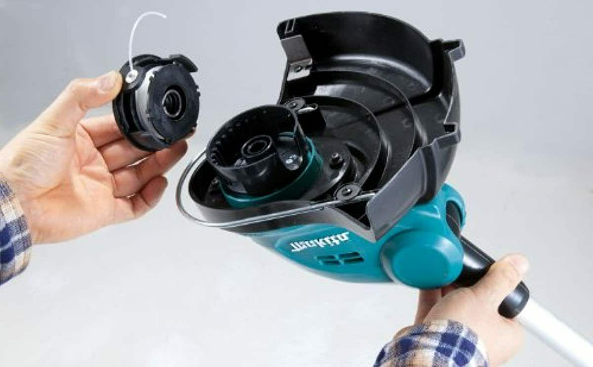 Electric Cordless String Weed Eater Telescoping Shaft