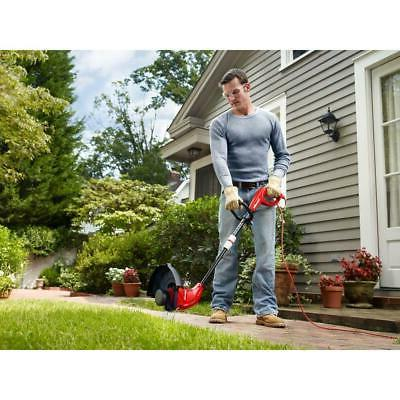 Electric Trimmer Corded Weed Wacker Straight Line Adjustable