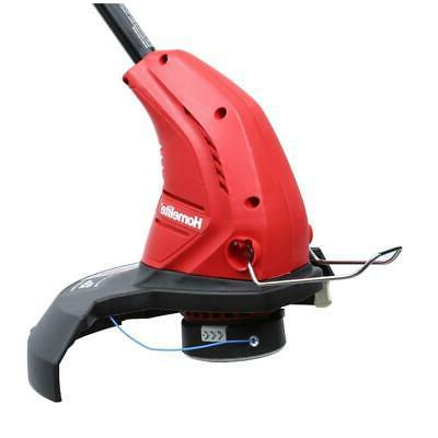 Electric Trimmer Corded Weed Eater Straight Adjustable