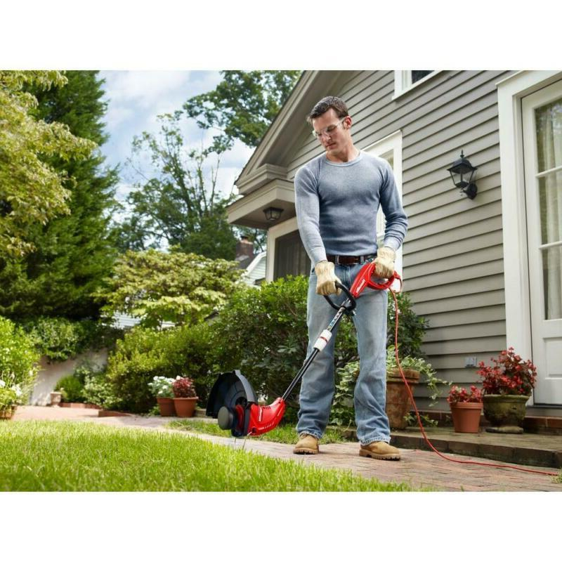 Electric String Trimmer Weed Eater Wacker Straight Line Corded Adjustable