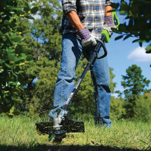 """GreenWorks 14"""" Trimmer, and Charger Sold Attachment Capable"""