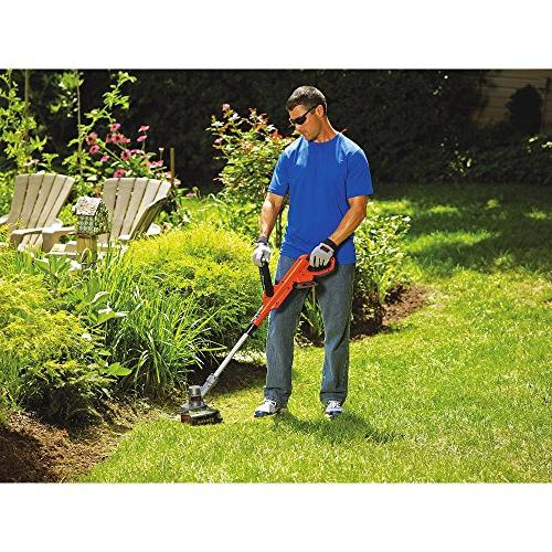 Black 12-Inch Trimmer and Edger,
