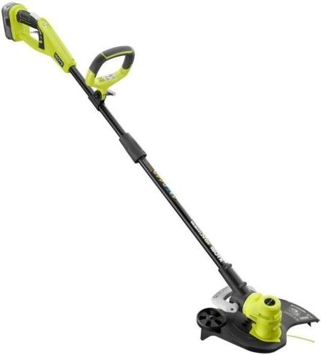 one lithium cordless string trimmer