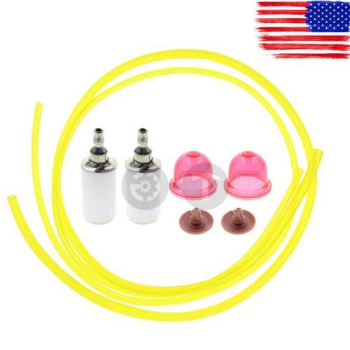 Primer Bulb Fuel Filter Line Hose For Poulan 530058709 Craft