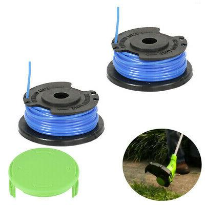 3pcs Spool Line Cap Parts Set Kit For Greenworks 29092 Weed