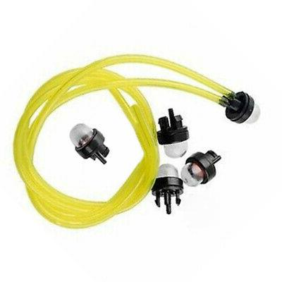 FUEL FILTER LINE HOSE For POULAN CRAFTSMAN WEED EATER GAS TRIMMER REPLACEMENT