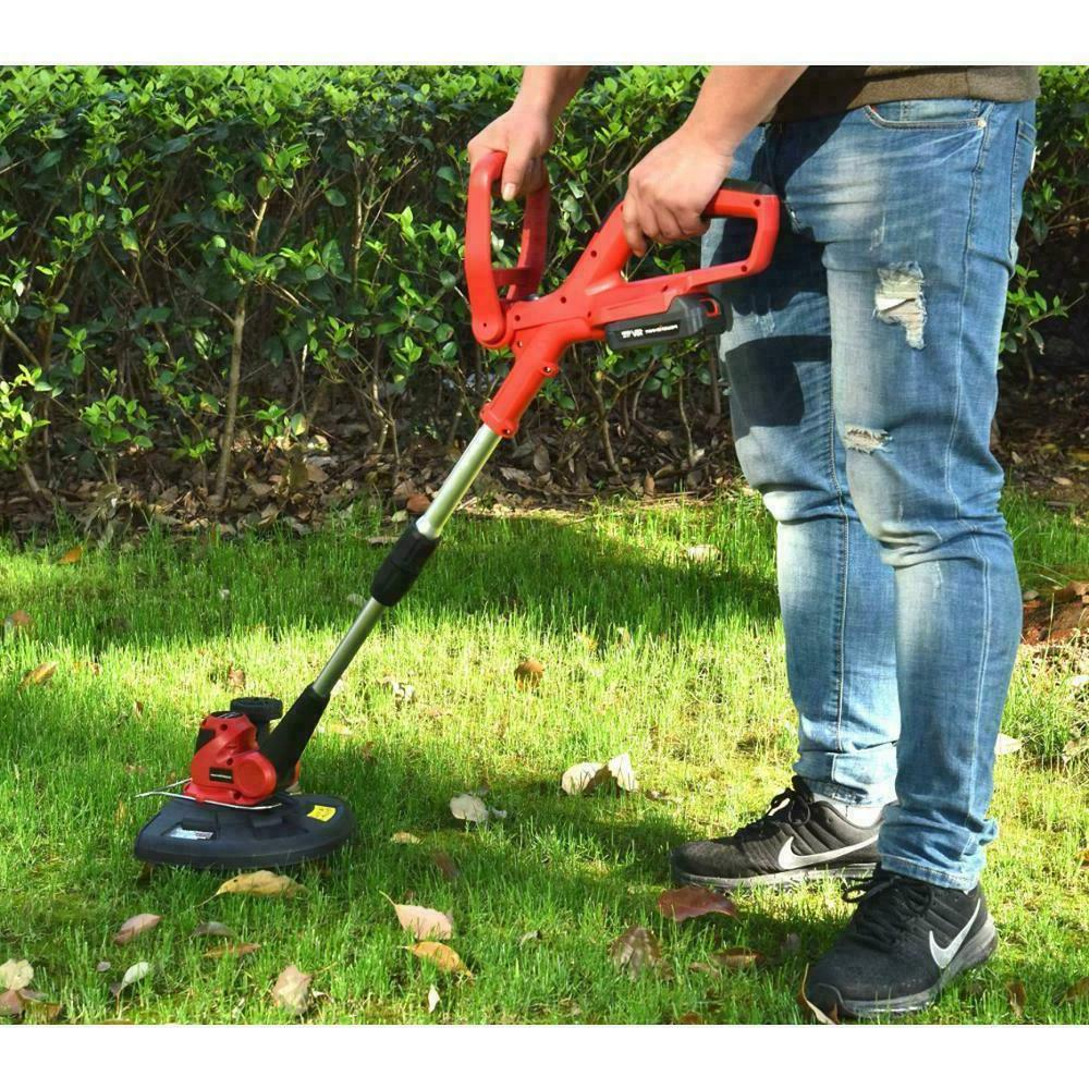 Weed Trimmer Edger Battery Powered