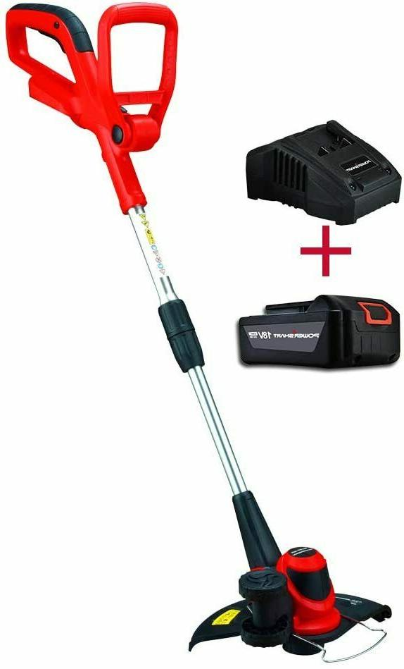 weed eater cordless w battery charger free