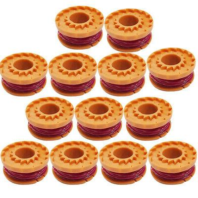 13x Weed Eater Line String Trimmer Spool Replacement  Set Fo