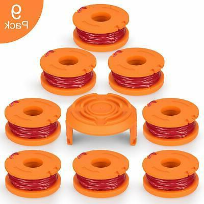 Worx Weed Eater String Replacement Spools Parts Line Trimmer