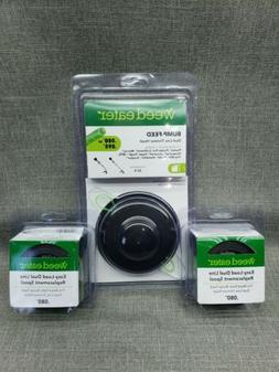 NEW - Weed Eater bump feed dual line trimmer head plus Lot 2