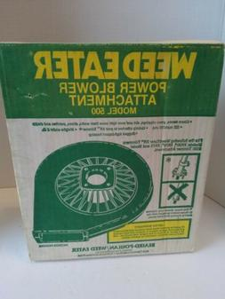 NEW OLD STOCK Vintage Poulan Weedeater Power Blower Attachme