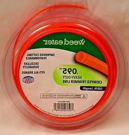 "NIB WEED EATER HEAVY-DUTY CRIMPED TRIMMER LINE .095"" x 100'"