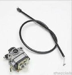 Original 753-04296 MTD Weedeater Carburetor /w Throttle Cabl