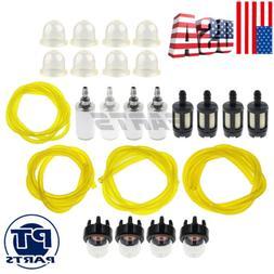 For Poulan Weed Eater Fuel Filter Line Hose Primer Bulb Kit