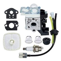 Premium Weed Eater Edger Carburetor Kit With Bulb Echo SRM22