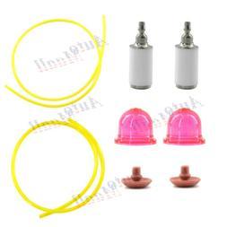 Primer Bulb Fuel Filter Line for Weed Eater SST25C FX26S FX2