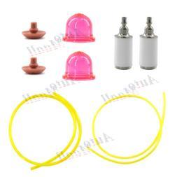 Primer Bulb Fuel Filter Line Hose for Weed Eater MX550 MX557