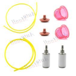 Primer Bulb Fuel Filter Line Hose for Weed Eater XT700 FB25
