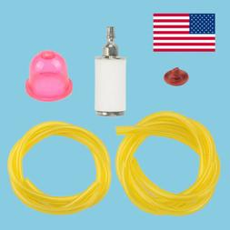 Fuel Filter Line Hose Primer Bulb For Poulan Craftsman Weed