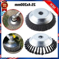 Professional Garden 25.4x200mm Steel Wire Weed Brush Replace