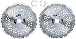 """Set of 2, 8"""" Carbide Blades Weed Eater Trimmer Stihl FS45 Ry"""