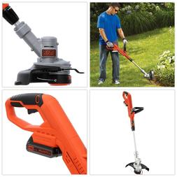 BLACK+DECKER String Grass Trimmer/Lawn Edger LST300 20-Volt,