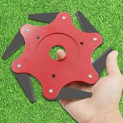 Trimmer Head Lawn Mower Grass Weed Eater Brush Cutter with 6