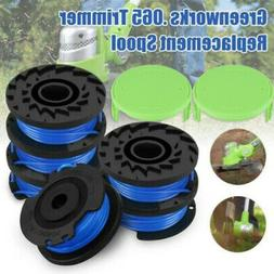 Trimmer Spool Line Spool Cap Parts Set Kit For Greenworks We