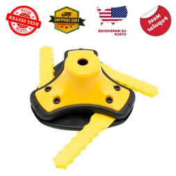 Universal String Trimmer Head Push Load 3 Blade Weed Eater