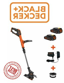 Weed Eater AND 2 Lipo Batteries BLACK+DECKER >>NEW>FREE SHIP