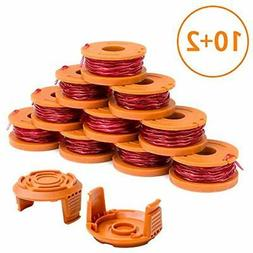 Weed Eater Spool Cap Compatible With Worx WA0010 WG163 WG180